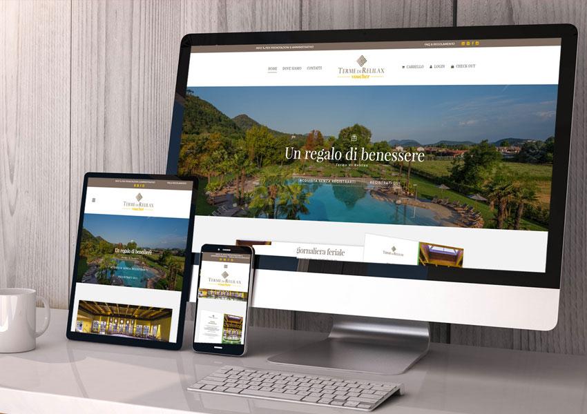 E-commerce per la vendita e gestione di voucher e gift card: Hotel Terme di Relilax