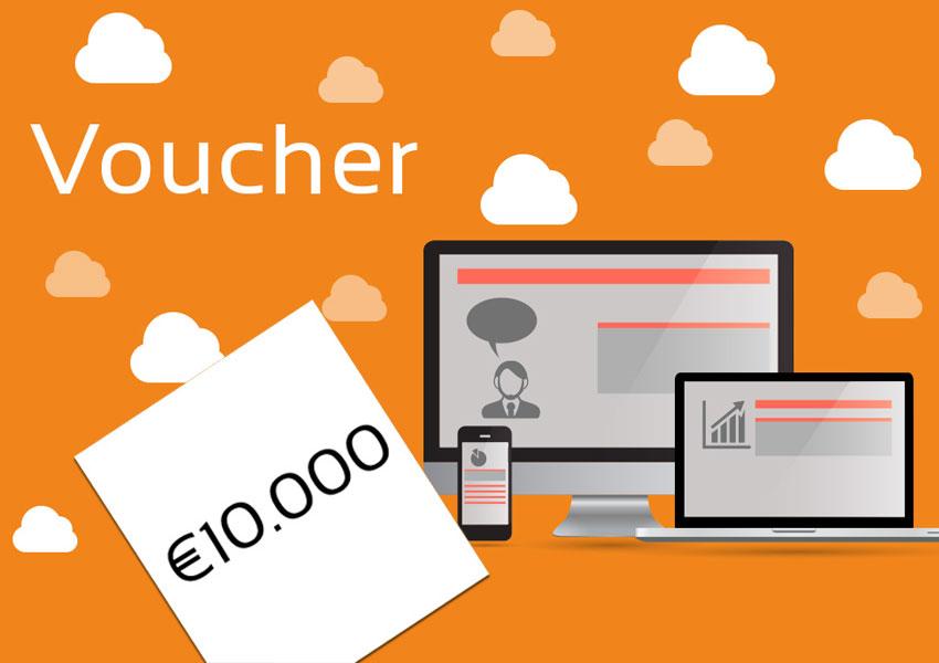 Voucher fino a €10.000 per il tuo nuovo progetto web