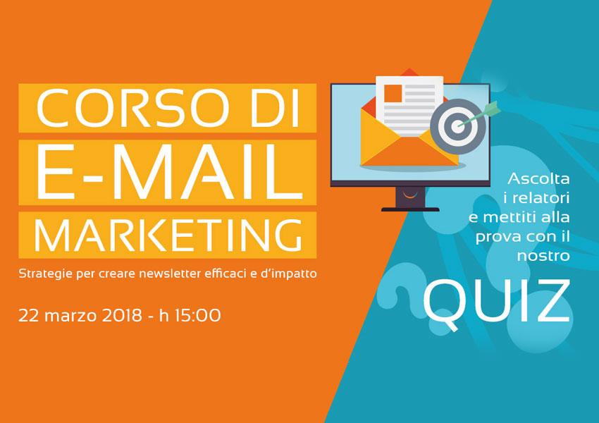 Corso di E-mail Marketing il 22 Marzo a Montegrotto Terme