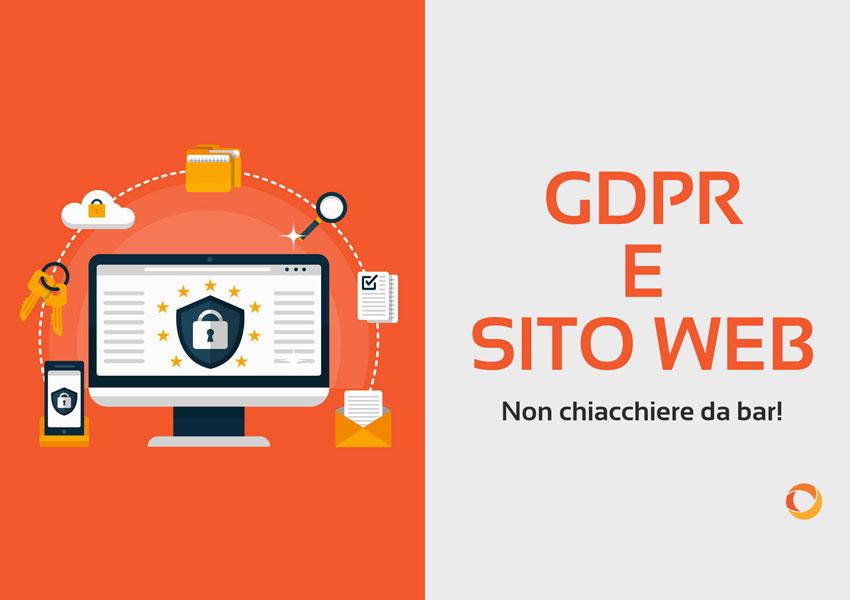 GDPR e sito Web: quali dati trattare e come farlo?