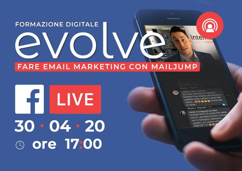 Evolve in streaming: fare e-mail marketing con Mailjump