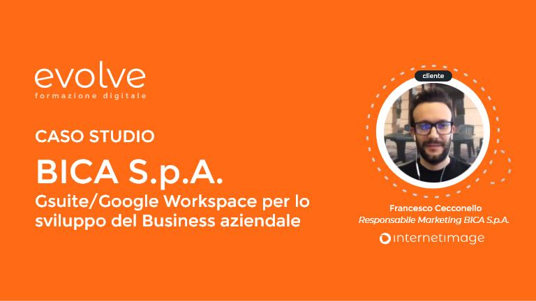 Formazione Digitale Evolve: Google Workspace (GSuite) per lo sviluppo del business aziendale