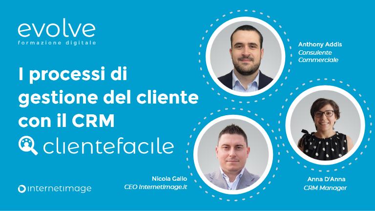 I processi di gestione del cliente con il CRM ClienteFacile