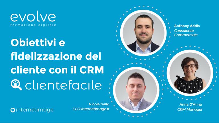 Obiettivi e fidelizzazione del cliente con il CRM ClienteFacile